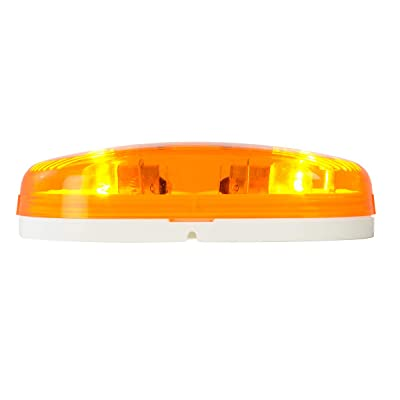 Grand General 80241 Marker Light (Amber Oblong with White Base): Automotive