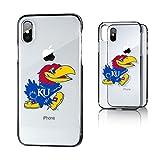 Keyscaper NCAA Kansas Jayhawks KU Insignia Clear Case for iPhone X, Clear