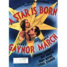 A Star Is Born POSTER Movie (1937) Style A 27 x 40 Inches - 69cm x 102cm (Janet Gaynor)(Fredric March)(Adolphe Menjou)(May Robson)(Andy Devine)