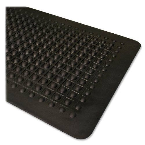 抗疲労マット、ゴム、ベベルエッジ、2 ' x3 ',ブラック, Sold as 1 Each   B0096XQWJK