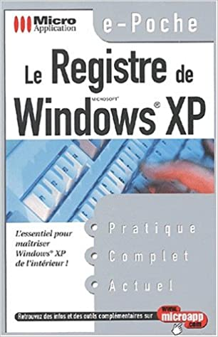 R/égistre de windows XP Le  E-poc