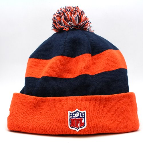 7d5776dcbd58cf The New Era Denver Broncos NFL On Field Sport Knit Winter Hat Orange/Navy  Blue Size One Size - Buy Online in UAE. | Sports Apparel Products in the  UAE - See ...