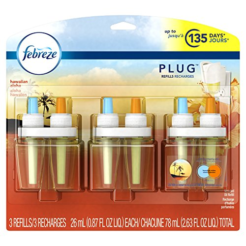 Febreze PLUG Air Freshener Refills Hawaiian Aloha (3 Count, 2.63 oz) by Febreze (Image #8)