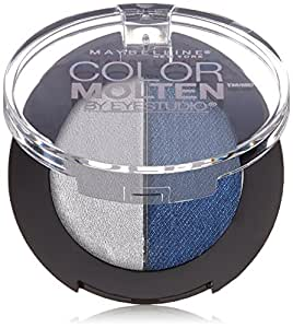 Maybelline New York Eye Studio Color Molten Cream Eye shadow, Sapphire Mist, 0.070 Ounce