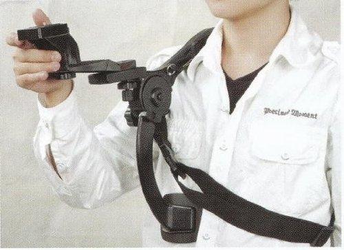 Ardinbir Photo Shoulder Pad Support Stabilizer Hand Free Bracket Tripod for Video DV HandyCam Camcorder DSLR Camera