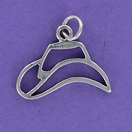 Outline Sterling Silver Charm - 3