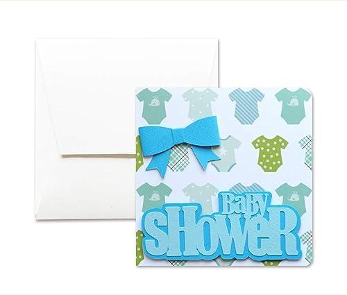 Baby shower - arco azul - bebé - tarjeta de felicitación y ...