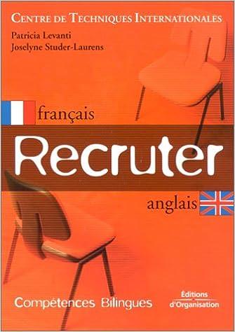 Recruter (édition bilingue, français-anglais) pdf, epub