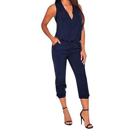 f7e3f301ea1 Amazon.com   Leewos Women Casual Jumpsuits