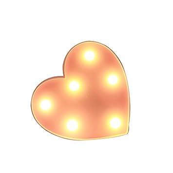 RUXMY Tischlampe Kreative Liebe Lampe Romantischen Heiratsantrag Geständnis  Valentinstag Nachtlicht Zu Freundin Geschenke Mädchen Herz Zimmer