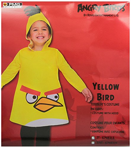 Angry Birds Yellow Costume - 2T