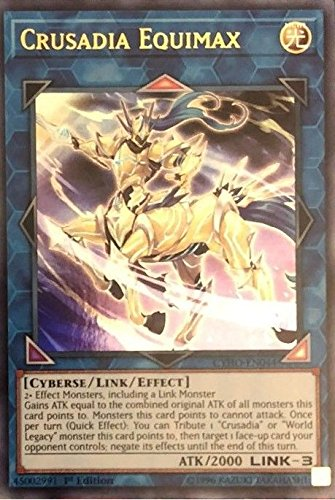 Yu-Gi-Oh! - Crusadia Equimax - CYHO-EN044 - Ultra Rare - 1st Edition - Cybernetic Horizon