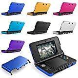 TNP New 3DS 3DS XL Case - Plastic + Aluminium Full Body Protective Snap-on Hard Shell Skin Case Cover for New Nintendo 3DS & 3DS XL 2015