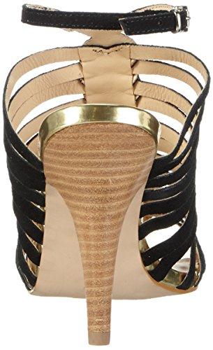Primafila 42-75523, Women's Ankle Strap Sandals Black - Black