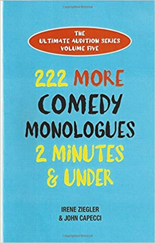 one minute comedic monologues for men