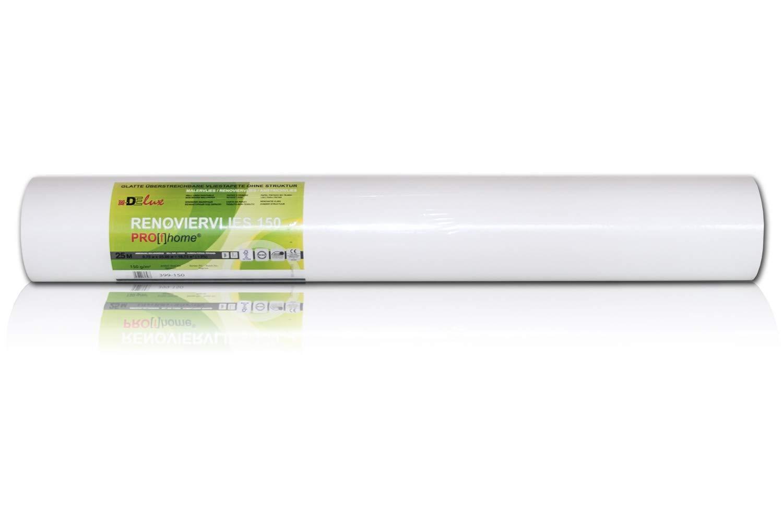 Hervorragend Profhome Renoviervlies 150 g Malervlies Anstrich-Vlies glatte BM08