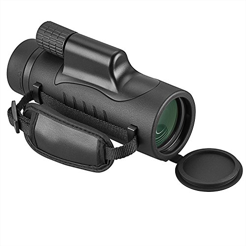 Monoculars,8x42 Compact Monocular Spotting Scope HD Telescope with Hand Strap and Carrying Case for Camping Hunting Traveling Sporting Events Bird Watching