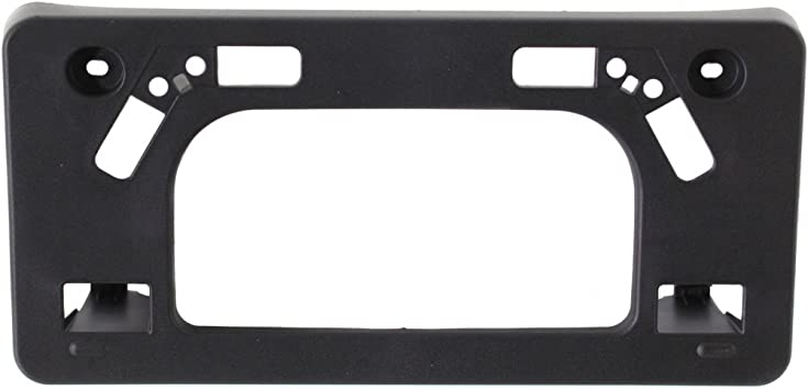 Black TOYOTA PRIUS 04-09 FRONT LICENSE PLATE BRACKET Factory Installed US Auto Parts