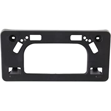 NEW FRONT LICENSE PLATE BRACKET PLASTIC FITS 2012-2015 TOYOTA PRIUS TO1068120