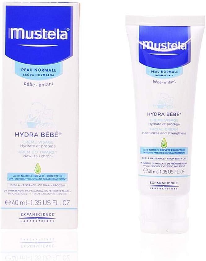 Mustela Hydra Bebé Crema Facial - 40 gr: Amazon.es: Belleza