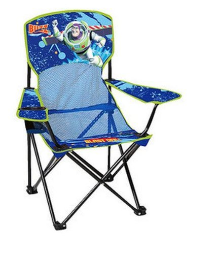 Disney Toy Story Toddler Camping Chair with Cup Holder and Arm Rest