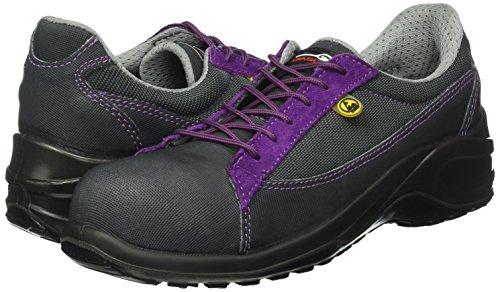 Giasco BL105K37 Dahlia Chaussures de sécurité bas S1P Taille 37 Noir/Lilas