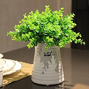 Emulation flower clover the pineapple grass floral home decor ornaments fresh green potted-sik 57