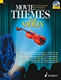 img - for MOVIE THEMES PLAY-ALONG FOR VIOLIN (Schott Master Play-along) book / textbook / text book