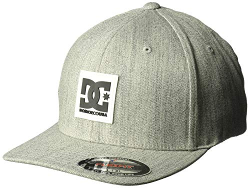 DC Men's MESHER Flex HAT, Glacier Gray, L/XL
