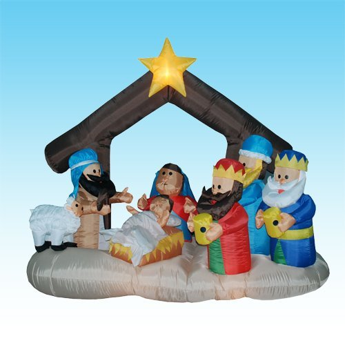 Inflatable Nativity Scene -
