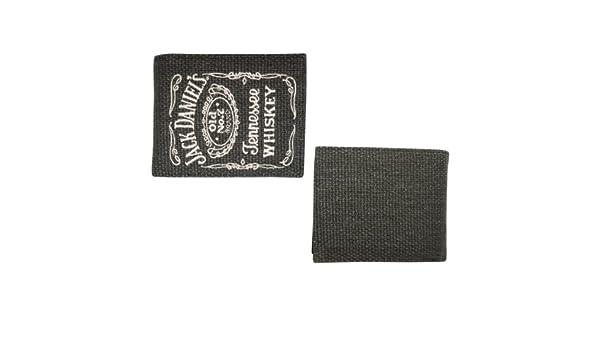Bioworld Merchandising Jack Daniels - Cartera de Piel de algodón con diseño de Old No.7: Amazon.es: Juguetes y juegos
