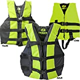 Hardcore Water Sports High Visibility Coast Guard Approved Life Jackets for the Whole Family