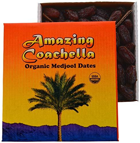 Amazing Coachella Organic Medjool Dates, 5 Pounds For Sale
