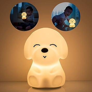 Kids Lightning Lamp For Children Room with Heart Figure Night Lamp Nice Gift NEW