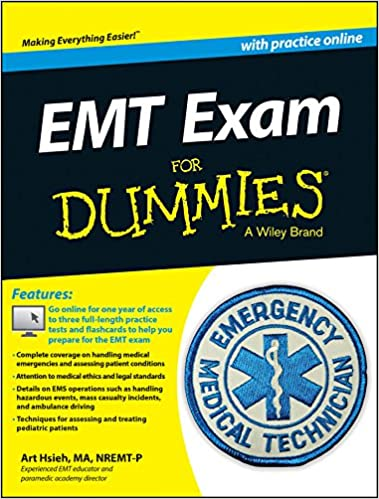 emt exam for dummies with online practice: 9781118768174: medicine ...