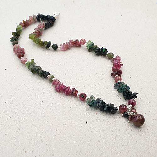 E6081 Natural WATERMELON TOURMALINE Gemstone carved Leaf shaped Beads Tourmaline Beads Tourmaline Necklace 8 inch strand 6x7.5 to 9x14 mm