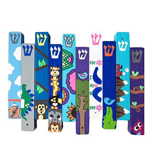 - Custom Mezuzah, Jewish Gift for Bris, Baby Naming, Personalized Judaica for Children's Room