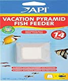 API VACATION PYRAMID FISH FEEDER 14-Day 1.2-Ounce