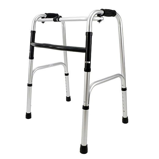 BCX Taburete Marco para caminar para ancianos Plegable de ...