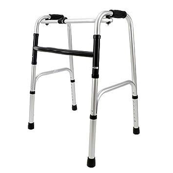BCX Taburete Marco para caminar para ancianos Plegable de aluminio ...