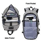 Yomuder Laptop Backpack, Computer Backpack for Men