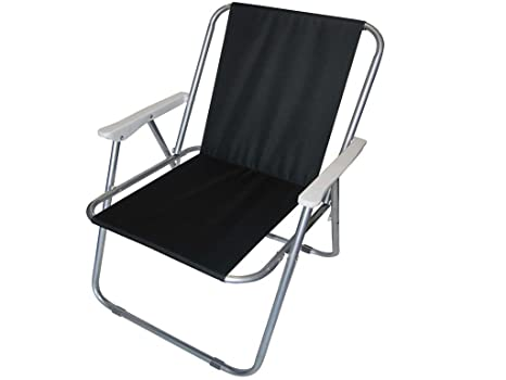 Redwood Plegable - Silla Plegable para Acampada, Color Negro ...