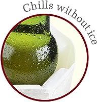 Vacu Vin 8714793388031 Enfriador activo de vino, plástico, Plata ...