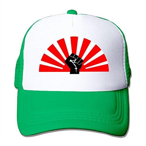 Shandongyunyou Free Flag Fist Mesh Hats Adjustable Baseball Cap Mesh Cap ()