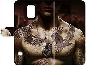 2015 Slim Fit Leather Protector Shock Absorbent Leather Case Sleeping Dogs Samsung Galaxy S5Eco-friendly Packaging - Sleeping Dogs Samsung Galaxy S5 9510025PJ843503038S5 Robert Taylor Swift's Shop