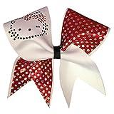 Chosen Bows Hello Kitty Cheer Bow, Dottie Red by Chosen Bows
