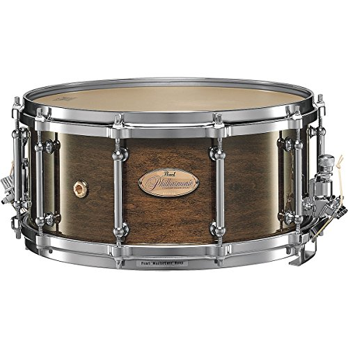 Pearl Philharmonic Snare Drum Concert Drums Walnut 14 x 6.5