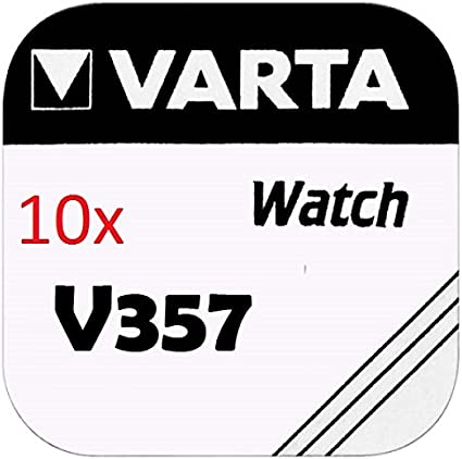 Varta Knopfzellen V357 Lot De 10 Elektronik