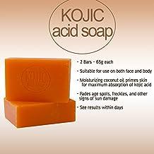 Kojie San Skin Lightening Kojic Acid Soap 2 Bars - 65g by YLL-Directuk