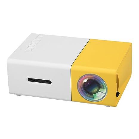 Amazon.com: buyorbuy Mini proyector portátil proyector de ...